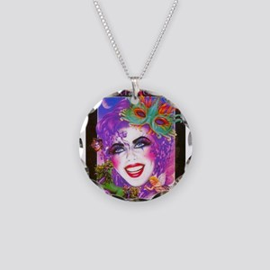 Image23-crazy Necklace Circle Charm