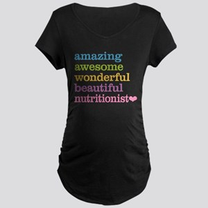 Nutritionist Maternity T-Shirt