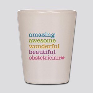 Obstetrician Shot Glass