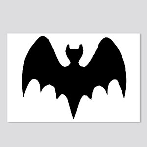 Vampire Bat Silhouette Postcards (Package of 8)