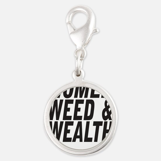Women Weed & Wealth Charms