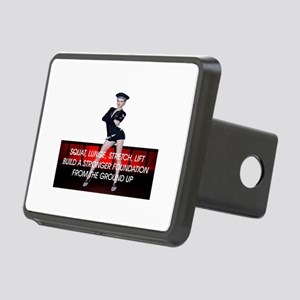 Workout Routine Rectangular Hitch Cover
