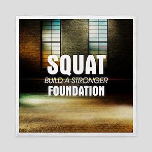 Workout Routine Queen Duvet
