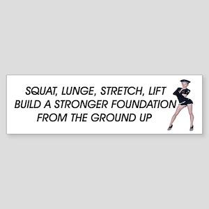 Workout Routine (bumper 10 Pk) Bumper Sticker