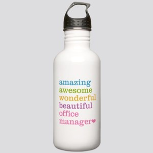 Office Manager Stainless Water Bottle 1.0L