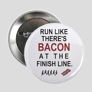 """Will Run for Bacon 2.25"""" Button"""