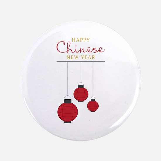 """Chinese New Year 3.5"""" Button (100 pack)"""