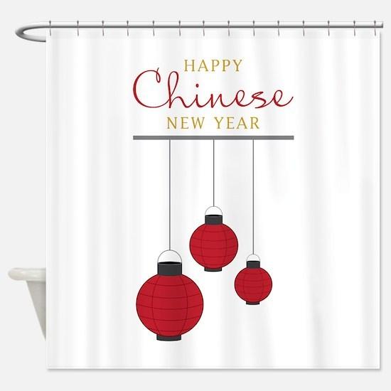 Chinese New Year Shower Curtain