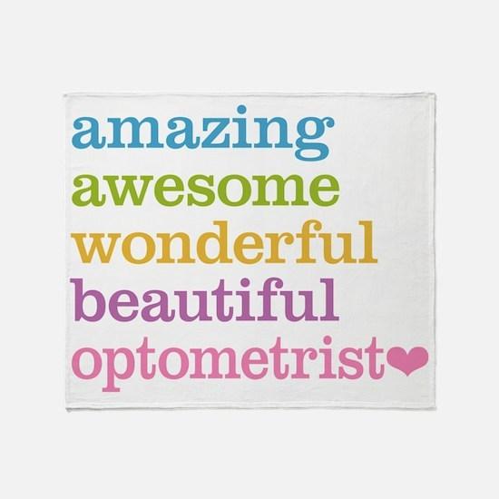 Awesome Optometrist Throw Blanket