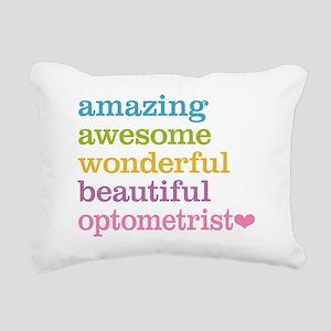 Awesome Optometrist Rectangular Canvas Pillow