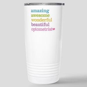 Awesome Optometrist Stainless Steel Travel Mug