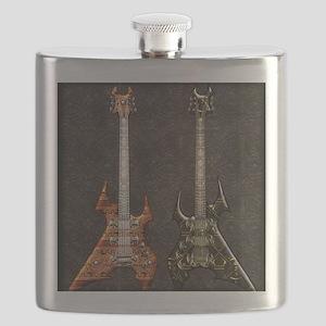 Twings Angels Guitars by Bluesax Flask