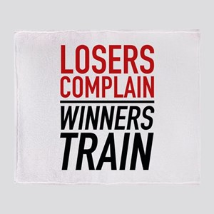 Losers Complain Winners Train Stadium Blanket