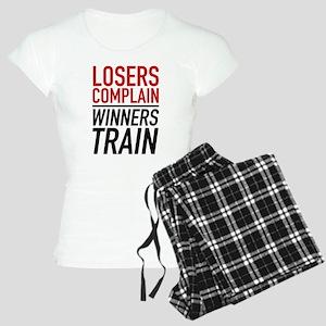 Losers Complain Winners Train Women's Light Pajama