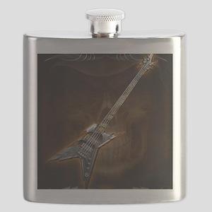 Death Bass Skull by Bluesax Flask