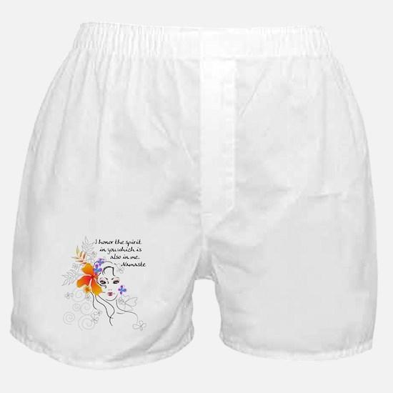 yoga147.png Boxer Shorts