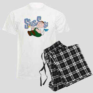 Family Guy Peter Sssss Men's Light Pajamas