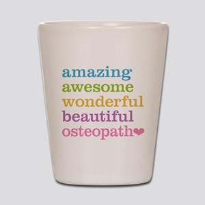Awesome Osteopath Shot Glass