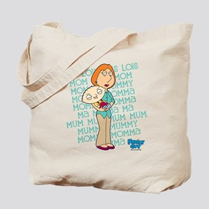 Family Guy Lois Lois Lois Tote Bag