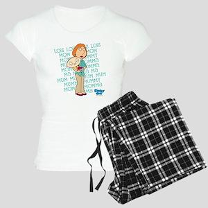 Family Guy Lois Lois Lois Women's Light Pajamas