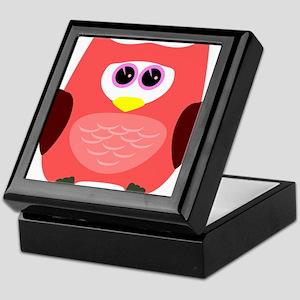 Owl (Red) Keepsake Box