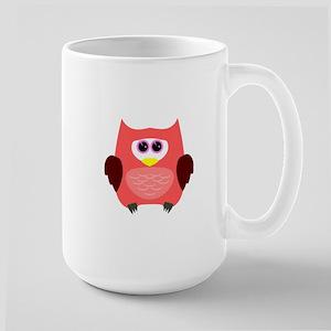 Owl (Red) Mugs
