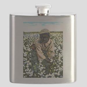 Cotton Picker Flask