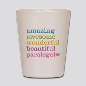 Awesome Paralegal Shot Glass