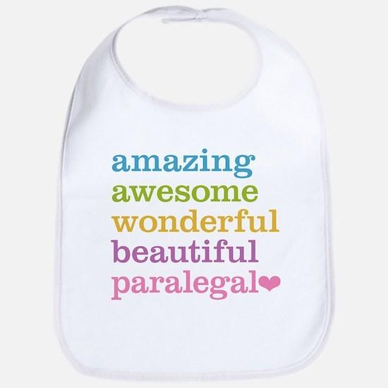Awesome Paralegal Bib