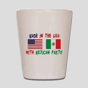 cinco42.png Shot Glass