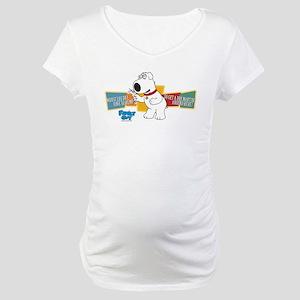 Family Guy Brian Martini Maternity T-Shirt