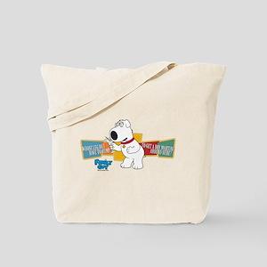 Family Guy Brian Martini Tote Bag