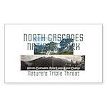 North Cascades Sticker (Rectangle 10 pk)