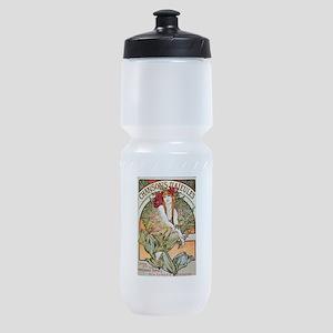 CHANSONS D'AIEULES, C.1898 Sports Bottle