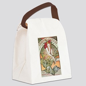 CHANSONS D'AIEULES, C.1898 Canvas Lunch Bag