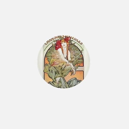 CHANSONS D'AIEULES, C.1898.JPG Mini Button