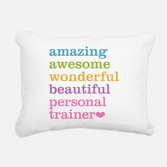 Personal Trainer Rectangular Canvas Pillow