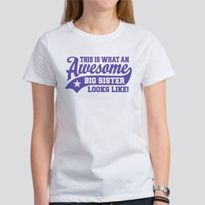 Awesome Big Sister Women's T-Shirt