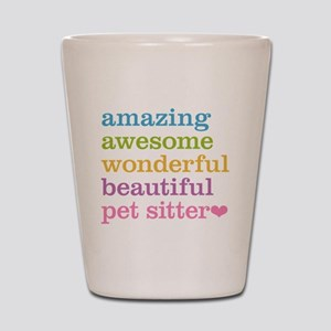 Pet Sitter Shot Glass