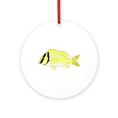 Porkfish Ornament (Round)