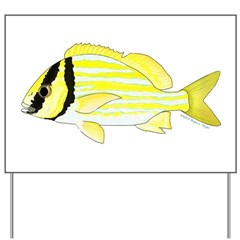 Porkfish Yard Sign