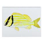 Porkfish Wall Calendar
