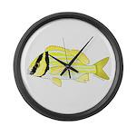 Porkfish Large Wall Clock