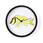 Porkfish Wall Clock