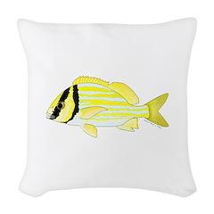 Porkfish Woven Throw Pillow