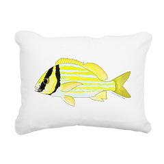 Porkfish Rectangular Canvas Pillow