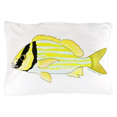 Porkfish Pillow Case