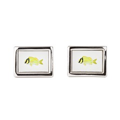 Porkfish Rectangular Cufflinks