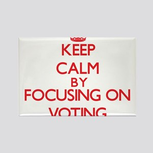 Keep Calm by focusing on Voting Magnets