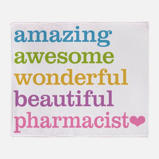 Pharmacist Throw Blanket